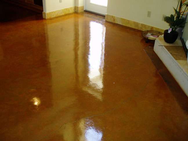 Acid staining cement concrete floors do it yourself acid stained floors solutioingenieria Choice Image