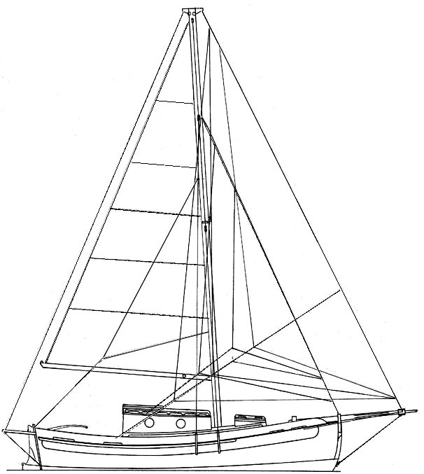 Used Falmouth Cutter 22 Sailboat Parts And Boats For Sale Pocket