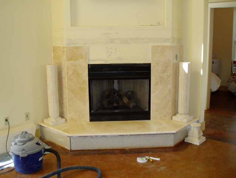 marble fireplace surround pictures