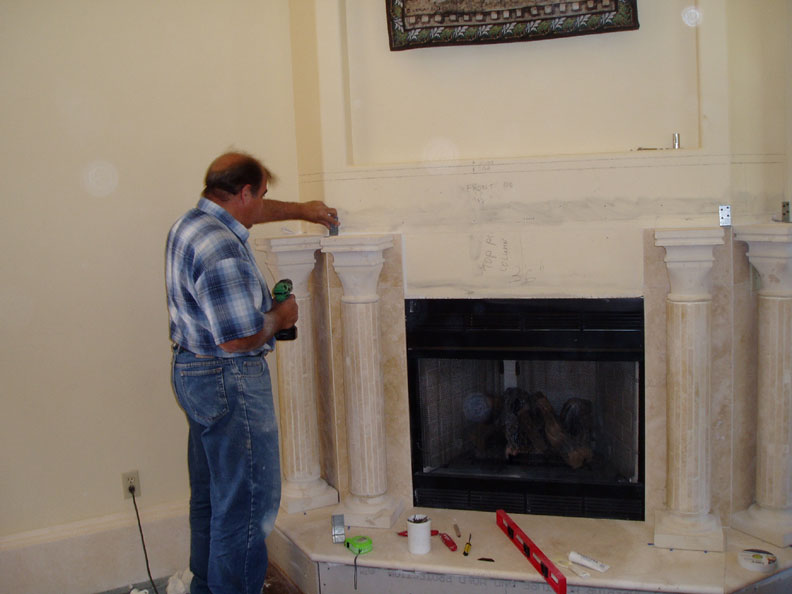 granite fireplace hearth pictures