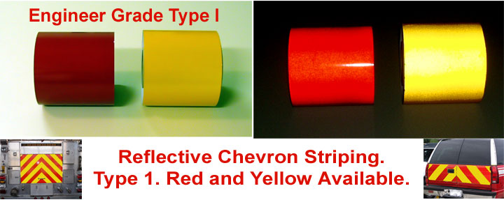 engineer grade chevron striping tape