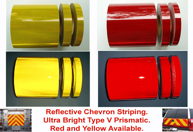 reflective v82 chevron tape