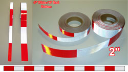 2 inch dot conspicuity tape