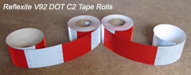 3 4 inch dot conspicuity tape
