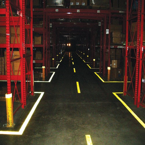 1 Quot 2 Quot 4 Quot Warehouse Factory Floor Marking Striping Tape