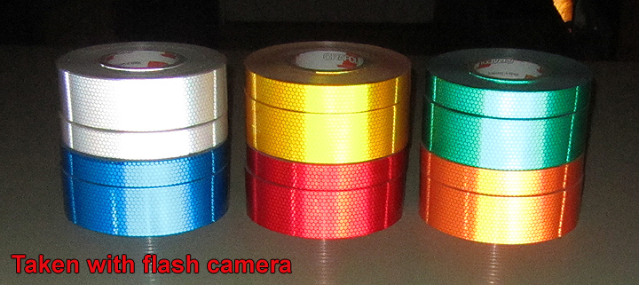 white high intensity prismatic reflective tape