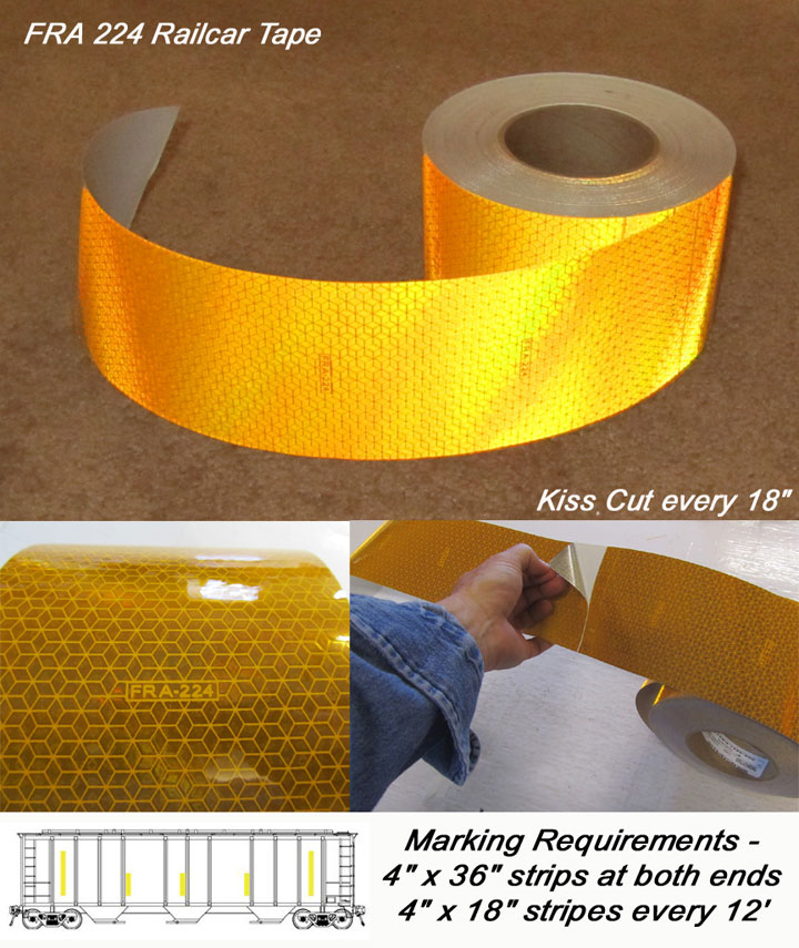 rail car tape