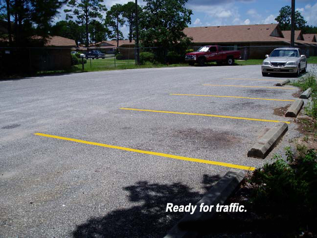 reflective parking lot striping tape