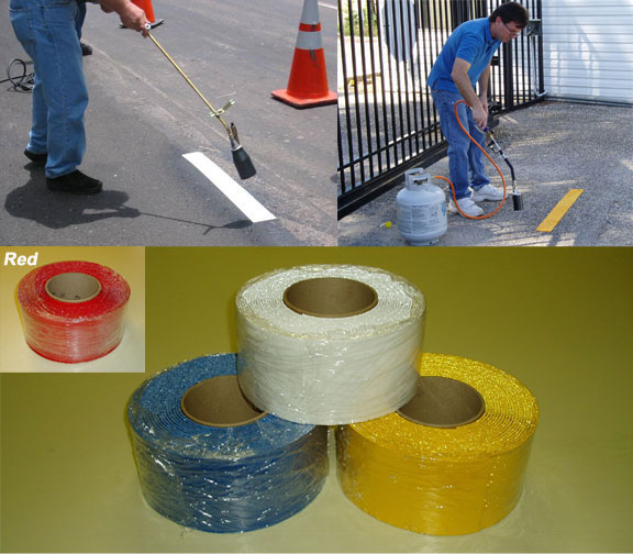 asphalt heat strips