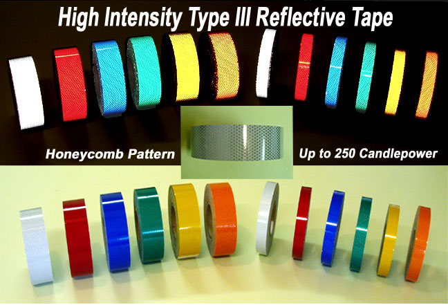 2 Inch High Intensity Type 3 Reflective Tape